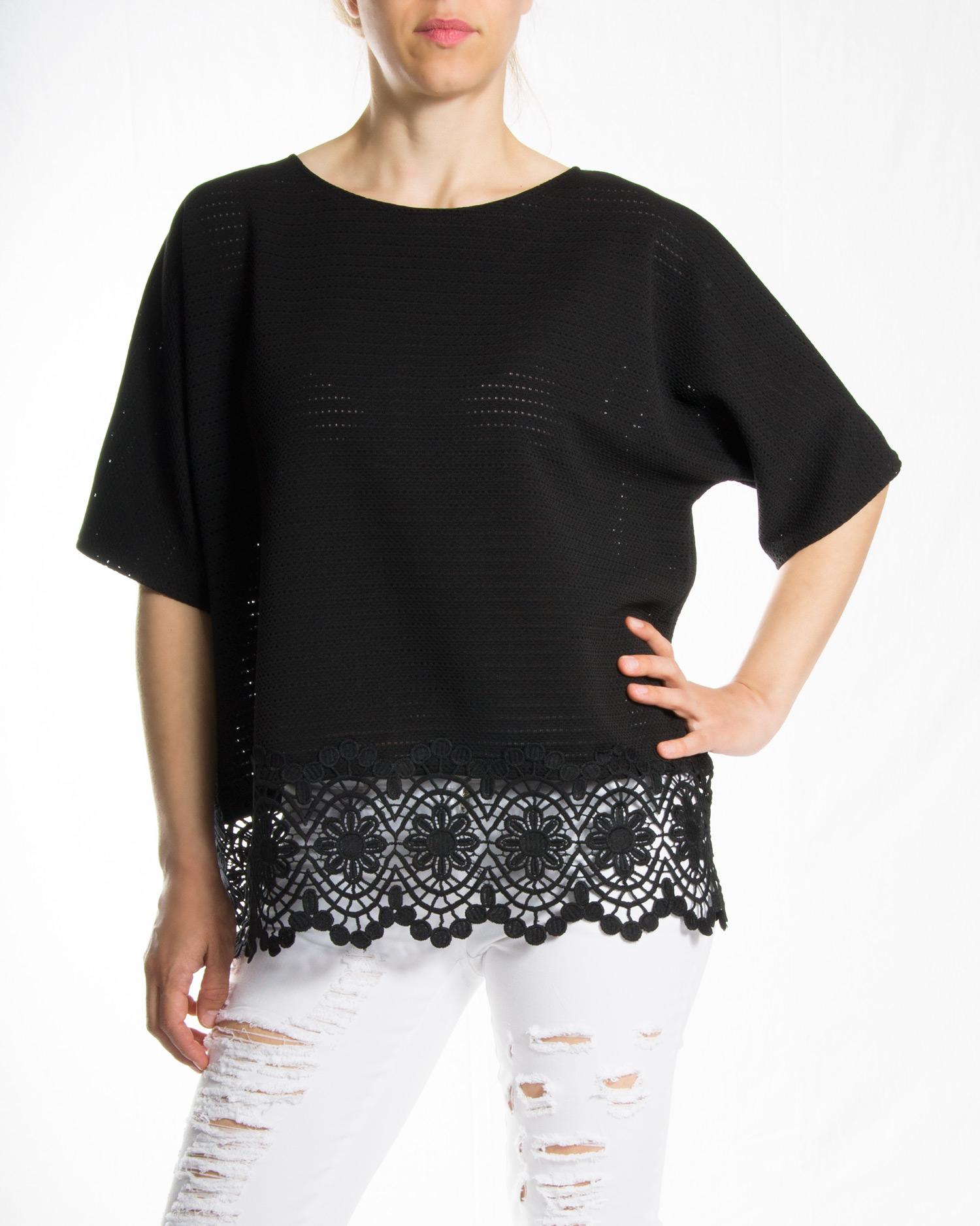 364e4ab5f2fe Μπλούζα με δαντέλα – Pick Store
