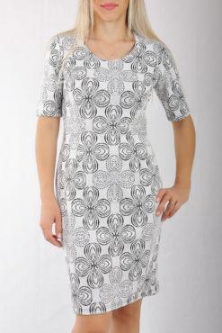 Φόρεμα mini ζακάρ