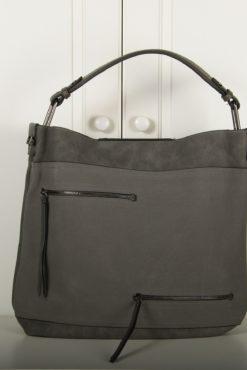 Μεγάλη τσάντα χειρός-ώμου 2 σε 1