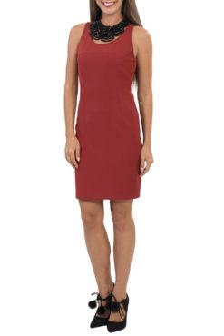 Φόρεμα αμάνικο πάνω από το γόνατο