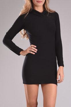 Φόρεμα με κουκούλα