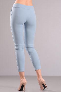 Παντελόνι μέχρι τον αστράγαλο σιέλ