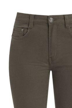 Ψηλόμεσο παντελόνι χακί