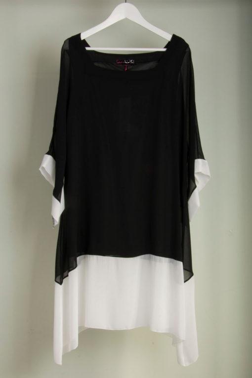 Φόρεμα με 3/4 μανίκι