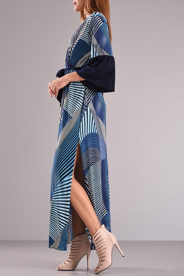 Φόρεμα μακρύ κρουαζέ