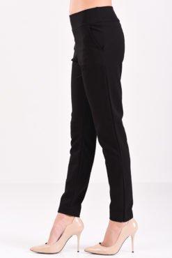 Παντελόνι cigarette ελαστικό σε μαύρο χρώμα