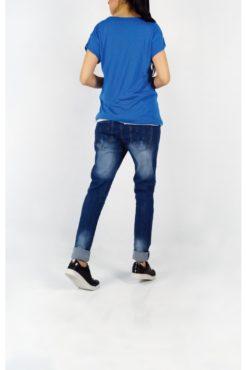 "T-shirt με τύπωμα ""loveout"""