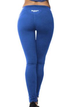 Γυναικείο dry fit ελαστικό κολάν σε μπλε ρουά