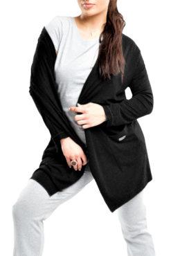 Ζακέτα wool look με τσέπες (3 χρώματα)