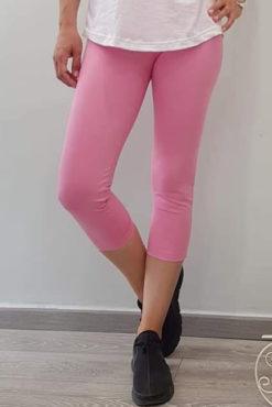 Κολάν κάπρι μονόχρωμο βισκόζ ροζ