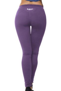 Ελαστικό γυναικείο dry fit κολάν σε μωβ χρώμα