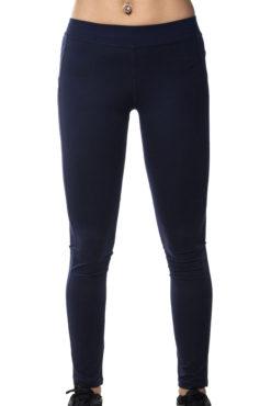 Γυναικείο dry fit ελαστικό κολάν σε μπλε σκούρο