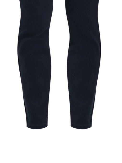Ψηλόμεσο παντελόνι με τσέπες σκούρο μπλε