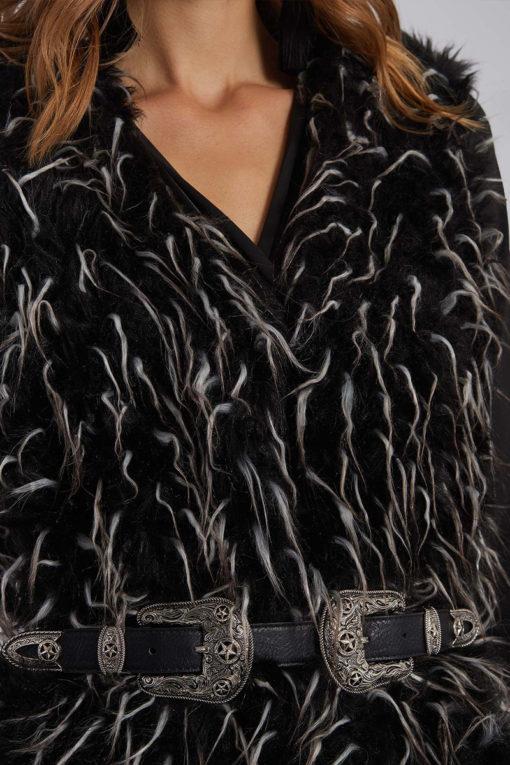 Γιλέκο από συνθετική γούνα