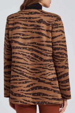 Σακάκι σε animal print