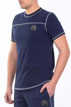 Μπλούζα με διακοσμητικές ραφές ραφ