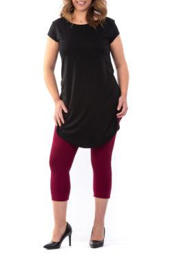 Μπλουζοφόρεμα με άνοιγμα στο πλάι