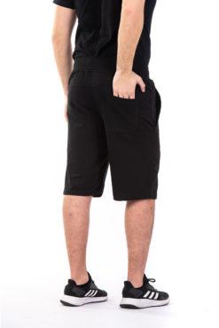 Βερμούδα φούτερ με φερμουάρ στη δεξιά τσέπη