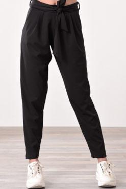 Παντελόνι ψηλόμεσο με πιέτες