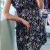 Φόρεμα εμπριμέ με κουμπιά
