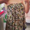 Εμπριμέ φούστα-μπλούζα
