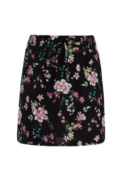 Βαμβακερή floral φούστα