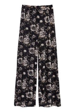 FLoral παντελόνα μαύρη