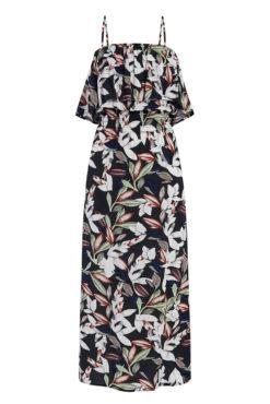 Φόρεμα φλοράλ με βολάν