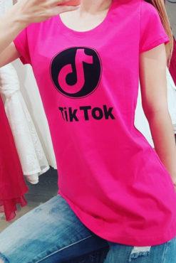 """Μπλουζάκι με τύπωμα """"Tik Tok"""""""