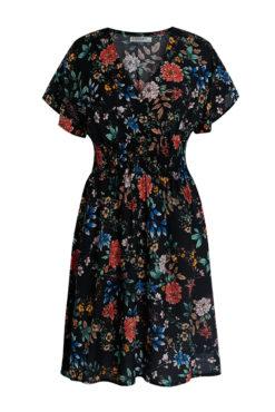 Κρουαζέ φόρεμα με λουλούδια
