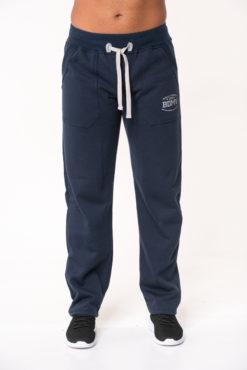 Παντελόνι φόρμας φούτερ μπλε με στάμπα