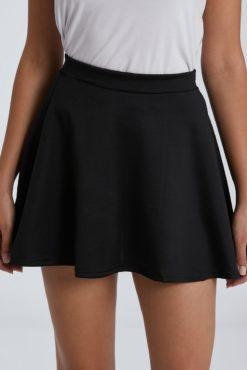 Mini φούστα μαύρη