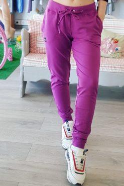 παντελόνι φόρμας μωβ